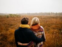 Felices luego de terapia de pareja